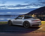 2021 Porsche 911 Targa 4 (Color: Dolomite Silver Metallic) Rear Three-Quarter Wallpapers 150x120 (13)