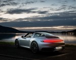 2021 Porsche 911 Targa 4 (Color: Dolomite Silver Metallic) Rear Three-Quarter Wallpapers 150x120 (14)