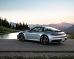 2021 Porsche 911 Targa 4 (Color: Dolomite Silver Metallic) Rear Three-Quarter Wallpapers 150x120 (11)