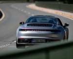 2021 Porsche 911 Targa 4 (Color: Dolomite Silver Metallic) Rear Wallpapers 150x120 (7)