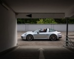 2021 Porsche 911 Targa 4 (Color: Dolomite Silver Metallic) Side Wallpapers 150x120 (12)