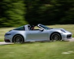 2021 Porsche 911 Targa 4 (Color: Dolomite Silver Metallic) Side Wallpapers 150x120 (5)