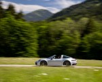 2021 Porsche 911 Targa 4 (Color: Dolomite Silver Metallic) Side Wallpapers 150x120 (3)