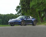 2021 Porsche 911 Targa 4 (Color: Gentian Blue) Front Three-Quarter Wallpapers 150x120 (27)