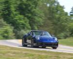 2021 Porsche 911 Targa 4 (Color: Gentian Blue) Front Three-Quarter Wallpapers 150x120 (2)