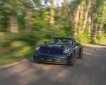 2021 Porsche 911 Targa 4 (Color: Gentian Blue) Front Wallpapers 150x120 (4)