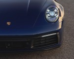 2021 Porsche 911 Targa 4 (Color: Gentian Blue) Headlight Wallpapers 150x120 (44)