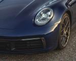 2021 Porsche 911 Targa 4 (Color: Gentian Blue) Headlight Wallpapers 150x120 (43)