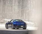 2021 Porsche 911 Targa 4 (Color: Gentian Blue) Rear Three-Quarter Wallpapers  150x120 (28)