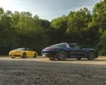 2021 Porsche 911 Targa 4 (Color: Gentian Blue) Rear Three-Quarter Wallpapers  150x120 (26)