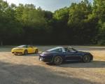 2021 Porsche 911 Targa 4 (Color: Gentian Blue) Rear Three-Quarter Wallpapers 150x120 (25)