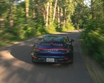 2021 Porsche 911 Targa 4 (Color: Gentian Blue) Rear Wallpapers  150x120 (15)