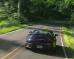 2021 Porsche 911 Targa 4 (Color: Gentian Blue) Rear Wallpapers 150x120 (16)