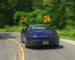 2021 Porsche 911 Targa 4 (Color: Gentian Blue) Rear Wallpapers 150x120 (8)