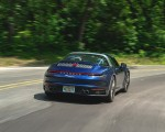 2021 Porsche 911 Targa 4 (Color: Gentian Blue) Rear Wallpapers 150x120 (11)