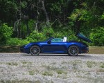 2021 Porsche 911 Targa 4 (Color: Gentian Blue) Side Wallpapers 150x120 (31)