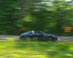 2021 Porsche 911 Targa 4 (Color: Gentian Blue) Side Wallpapers 150x120 (18)