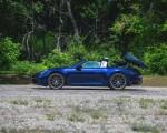 2021 Porsche 911 Targa 4 (Color: Gentian Blue) Side Wallpapers 150x120 (32)