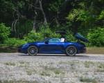 2021 Porsche 911 Targa 4 (Color: Gentian Blue) Side Wallpapers 150x120 (33)