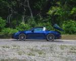 2021 Porsche 911 Targa 4 (Color: Gentian Blue) Side Wallpapers 150x120 (34)