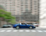 2021 Porsche 911 Targa 4 (Color: Gentian Blue) Side Wallpapers 150x120 (22)