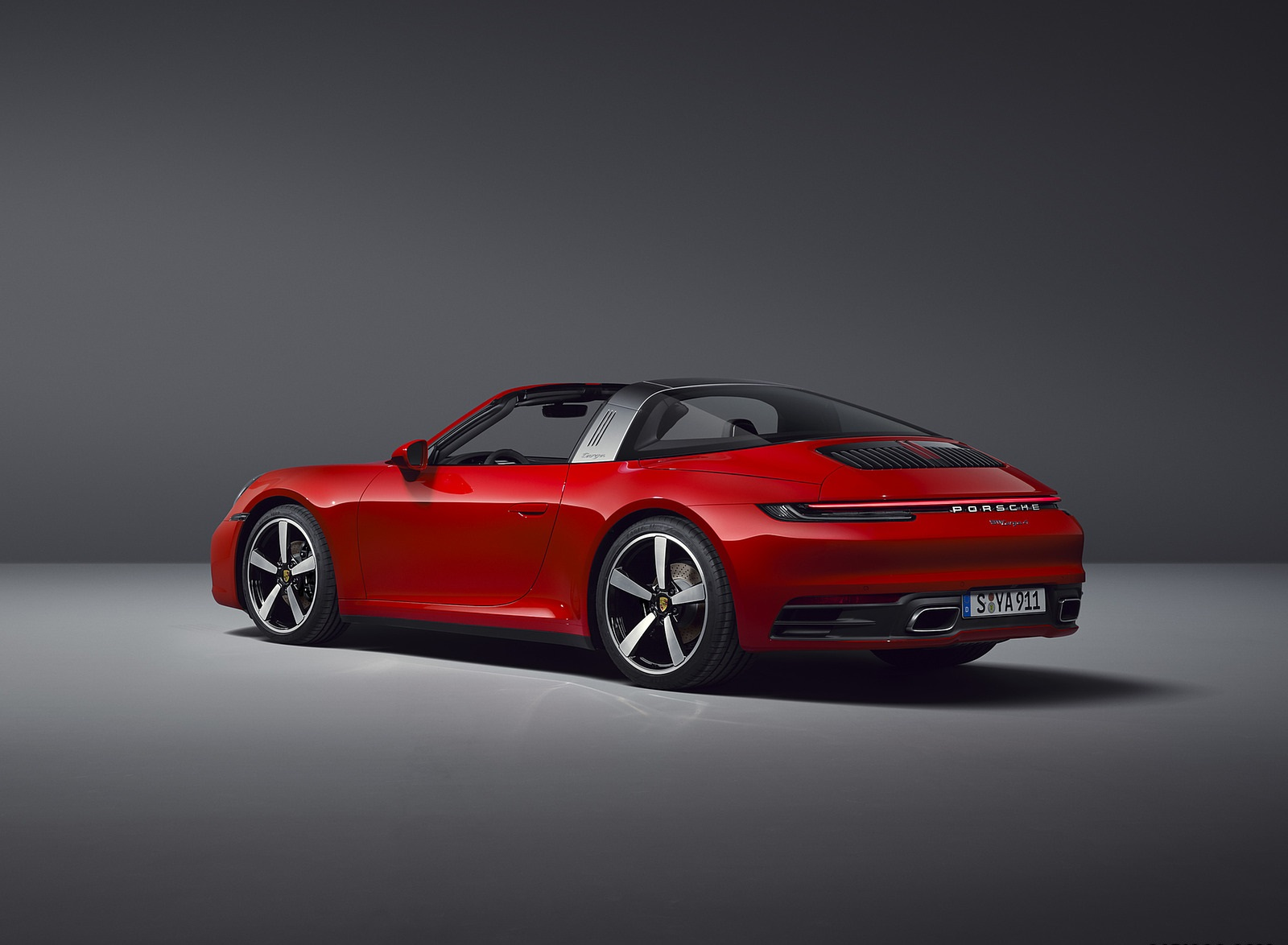 2021 Porsche 911 Targa 4 Rear Three-Quarter Wallpapers (4)