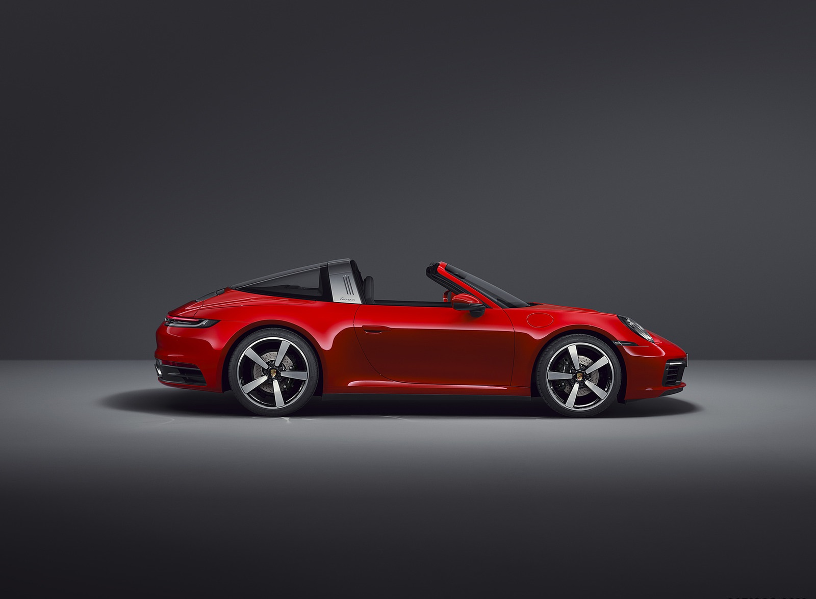 2021 Porsche 911 Targa 4 Side Wallpapers (5)