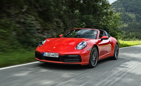 2021 Porsche 911 Targa 4S Wallpapers HD