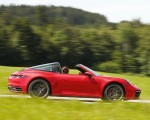 2021 Porsche 911 Targa 4S (Color: Guards Red) Side Wallpapers 150x120 (15)