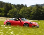 2021 Porsche 911 Targa 4S (Color: Guards Red) Side Wallpapers 150x120 (16)