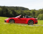 2021 Porsche 911 Targa 4S (Color: Guards Red) Side Wallpapers 150x120 (18)