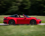 2021 Porsche 911 Targa 4S (Color: Guards Red) Side Wallpapers 150x120 (7)