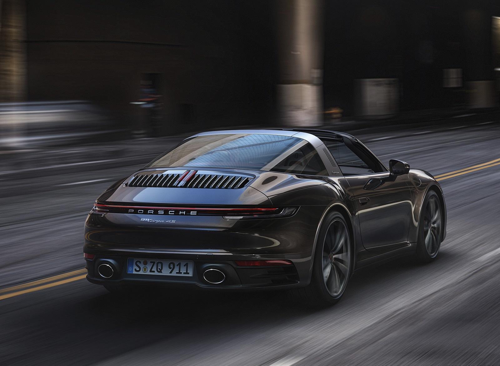 2021 Porsche 911 Targa 4S Rear Three-Quarter Wallpapers (5)