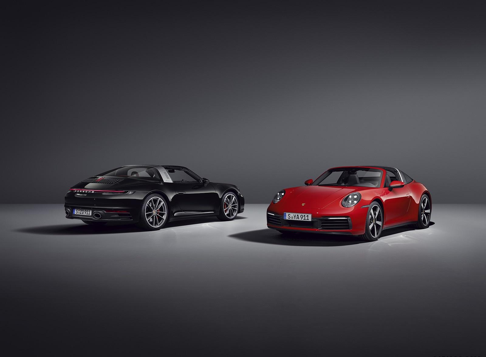 2021 Porsche 911 Targa 4S and Targa 4 Wallpapers (7)