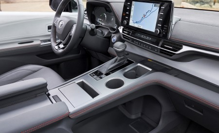 2021 Toyota Sienna XSE Hybrid Central Console Wallpapers 450x275 (11)