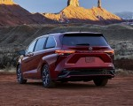 2021 Toyota Sienna XSE Hybrid Rear Three-Quarter Wallpapers 150x120