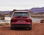 2021 Toyota Sienna XSE Hybrid Rear Wallpapers 150x120