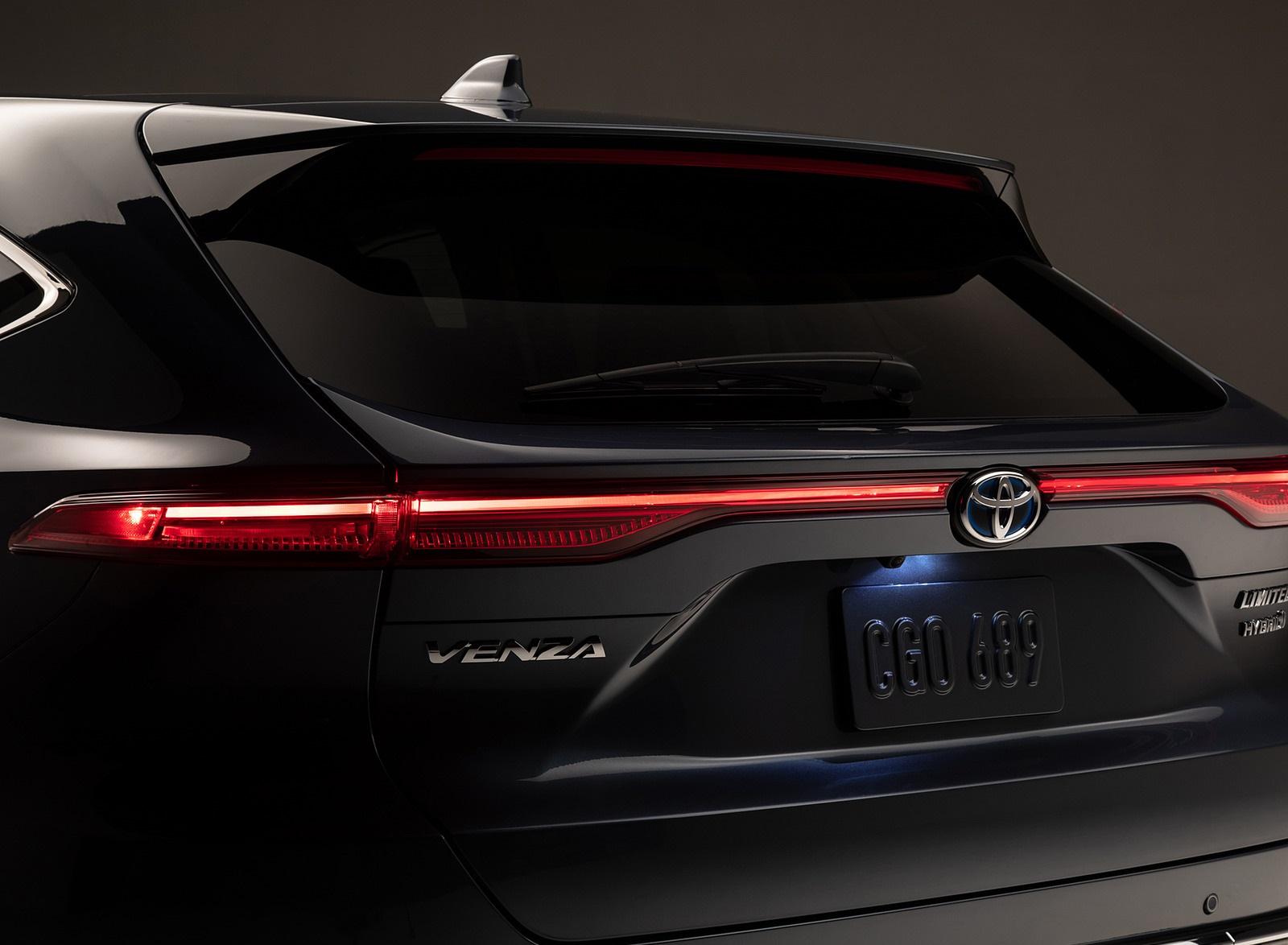 2021 Toyota Venza Exhaust Wallpapers (10)