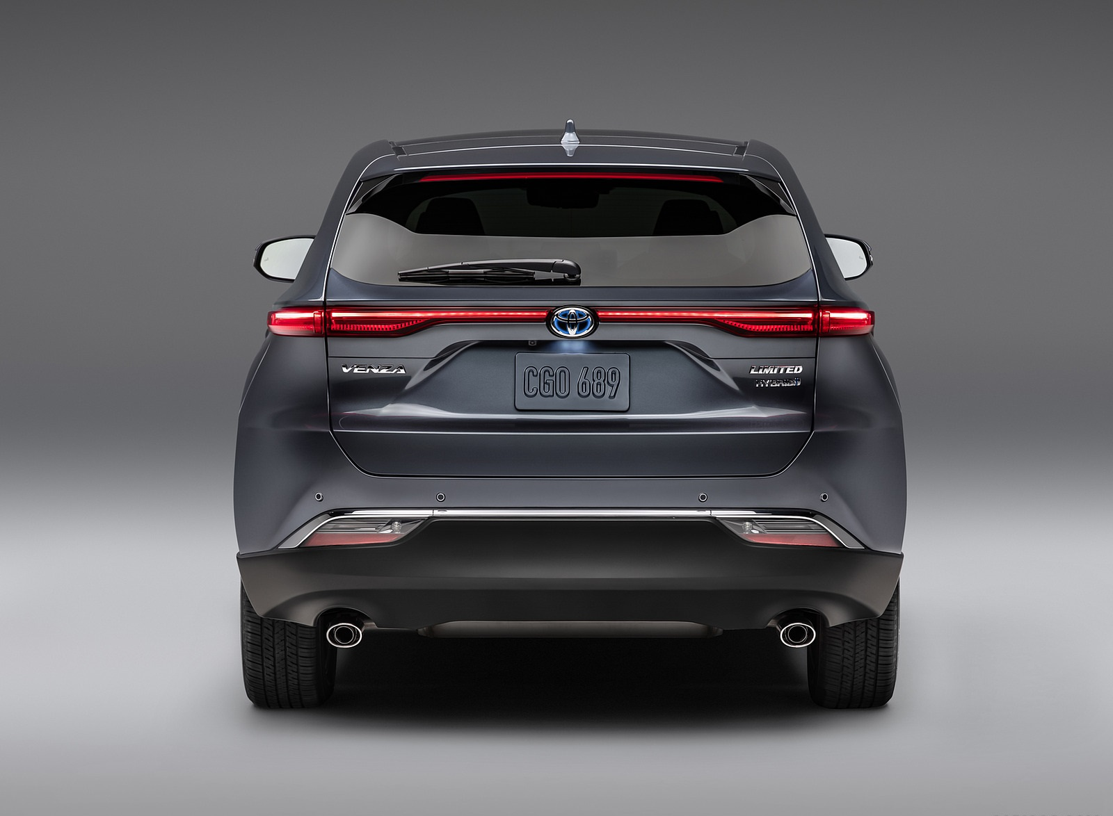 2021 Toyota Venza Rear Wallpapers (4)
