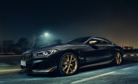 2020 BMW 8 Series Golden Thunder Edition Wallpapers HD