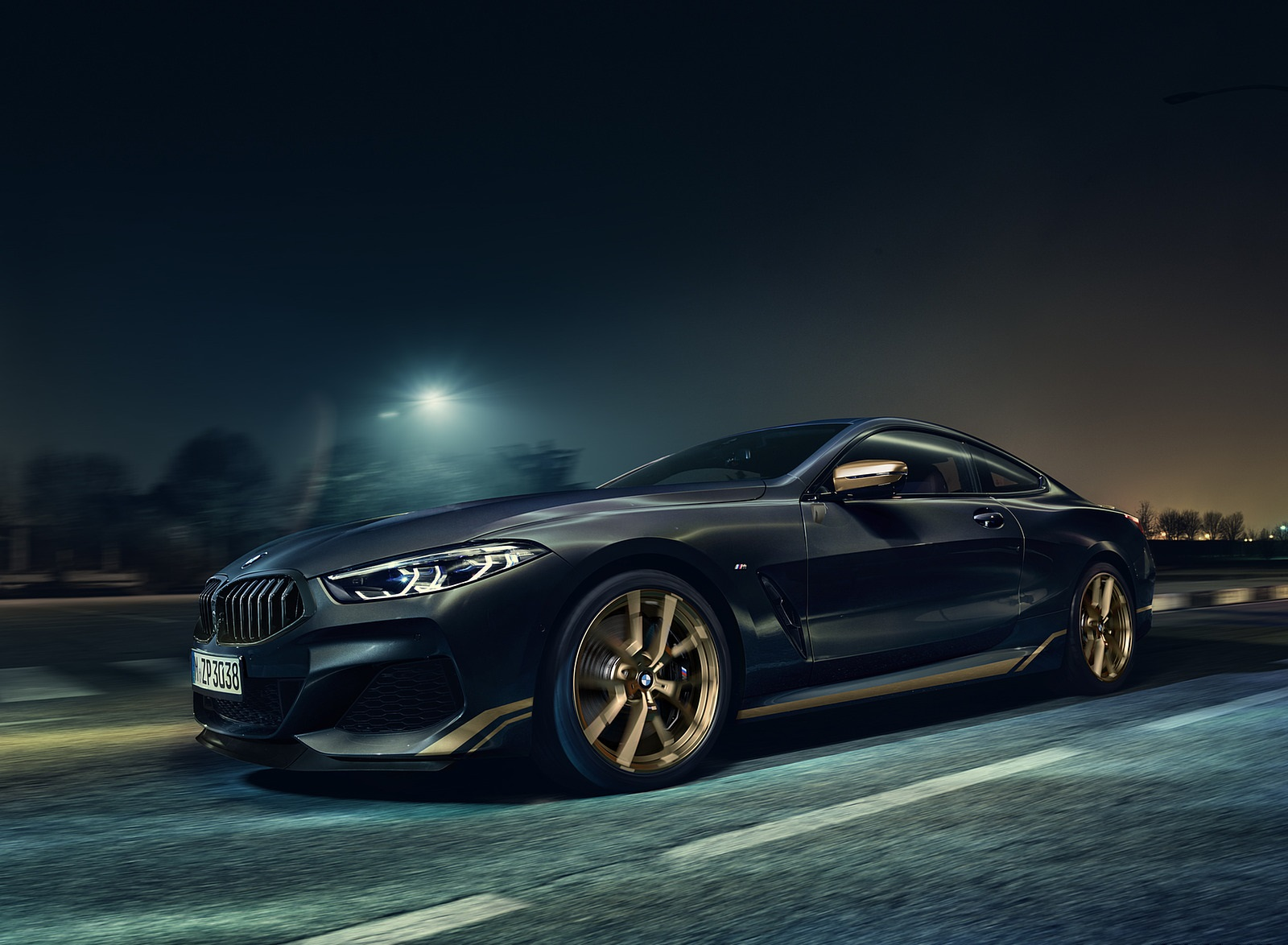 2020 BMW 8 Series Golden Thunder Edition Front Three-Quarter Wallpapers (1)