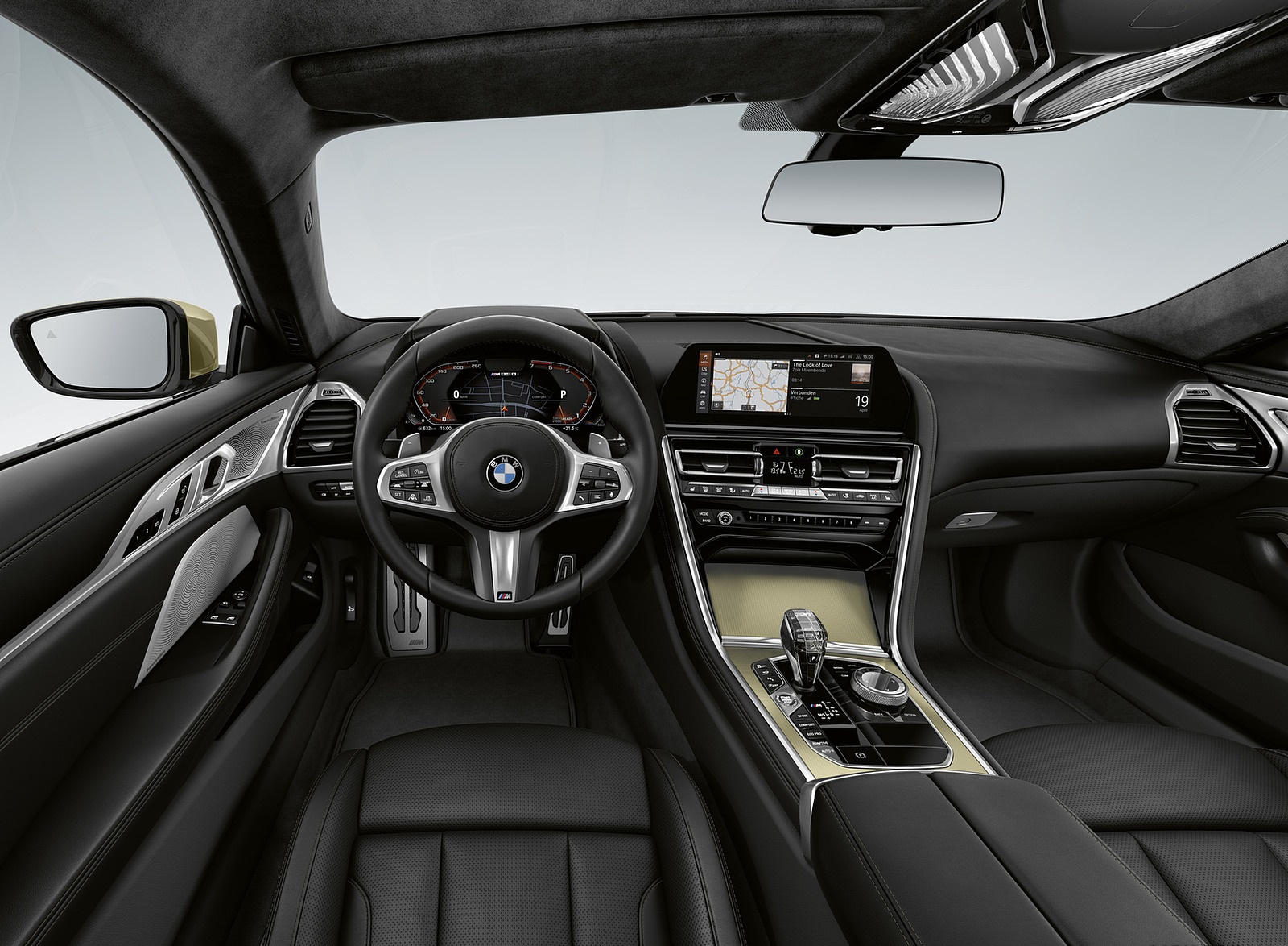 2020 BMW 8 Series Golden Thunder Edition Interior Cockpit Wallpapers (6)