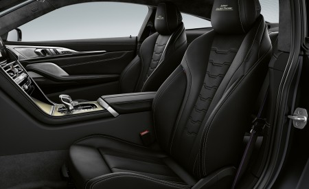 2020 BMW 8 Series Golden Thunder Edition Interior Seats Wallpapers 450x275 (5)