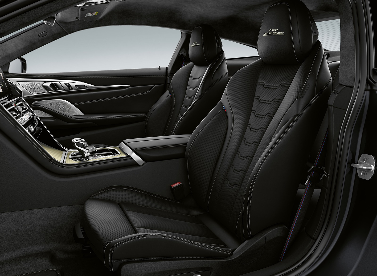 2020 BMW 8 Series Golden Thunder Edition Interior Seats Wallpapers (5)