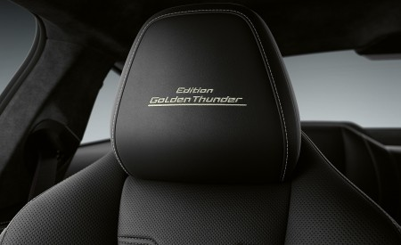 2020 BMW 8 Series Golden Thunder Edition Interior Seats Wallpapers 450x275 (4)