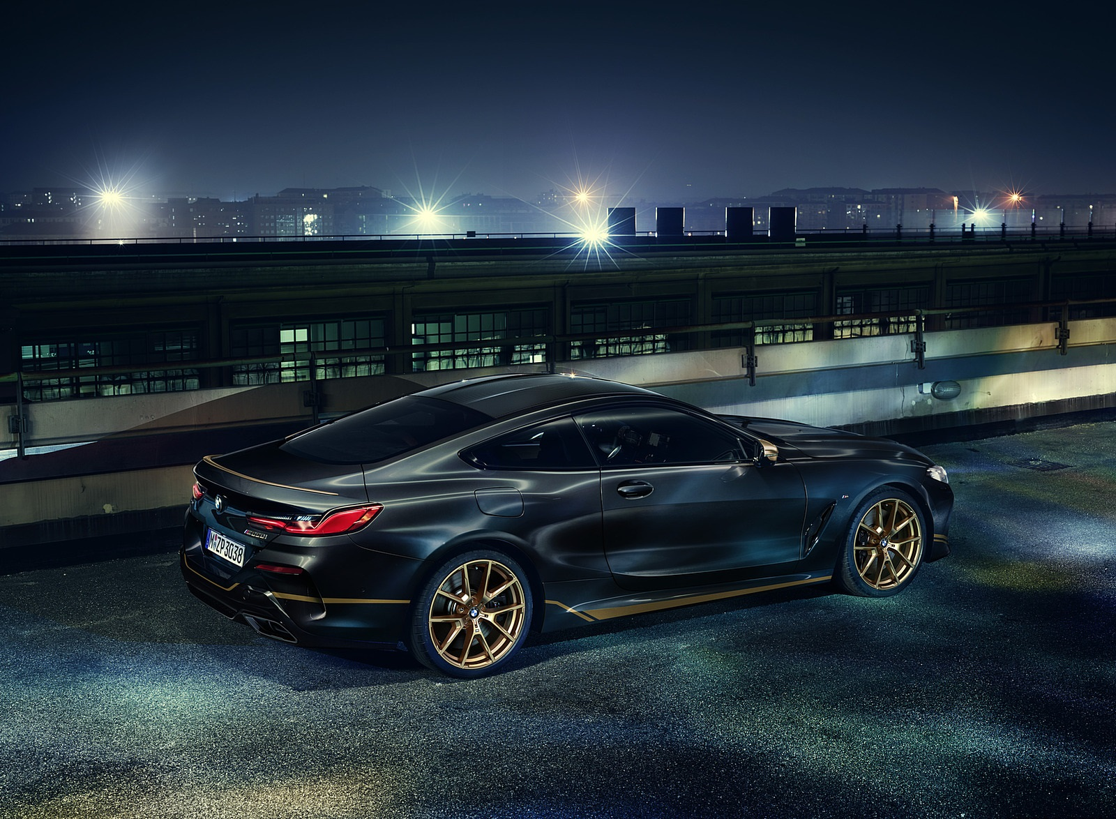 2020 BMW 8 Series Golden Thunder Edition Rear Three-Quarter Wallpapers (2)