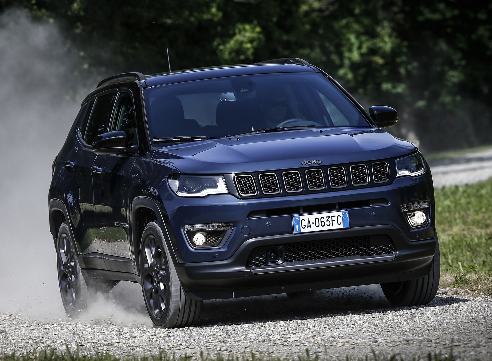 2020 Jeep Compass (Euro-Spec) Front Wallpapers (4)