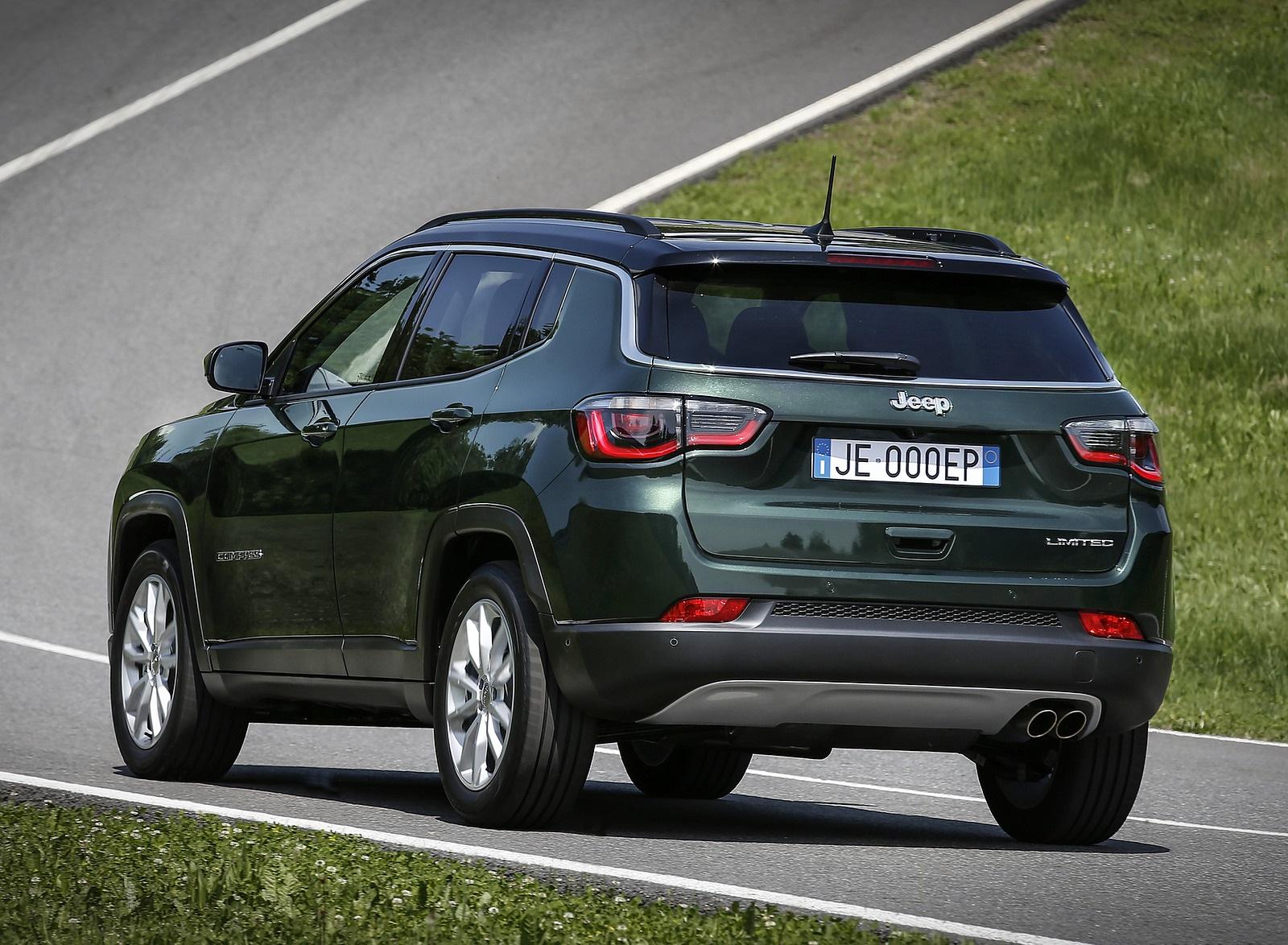 2020 Jeep Compass (Euro-Spec) Rear Three-Quarter Wallpapers (5)