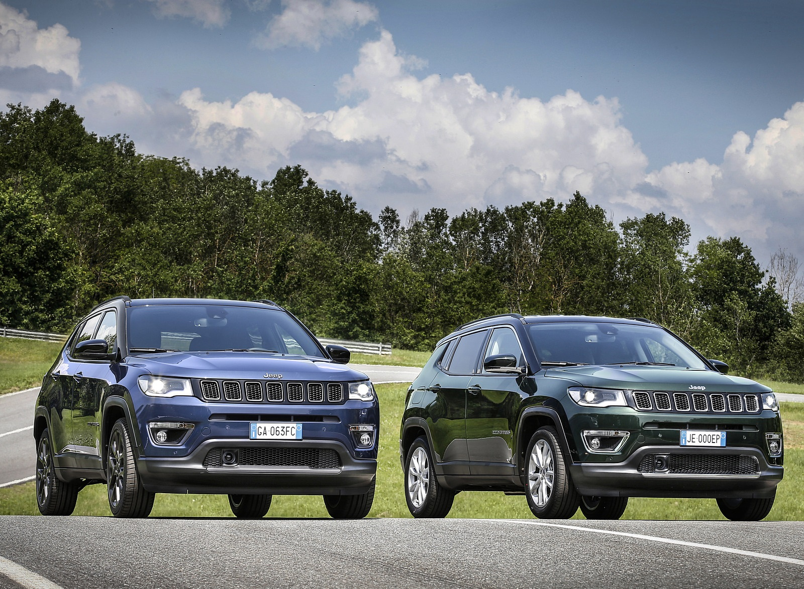 2020 Jeep Compass (Euro-Spec) Wallpapers (6)