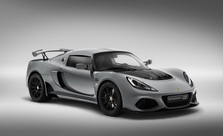 2020 Lotus Exige Sport 410 20th Anniversary (Color: Arctic Silver) Front Three-Quarter Wallpapers 450x275 (2)